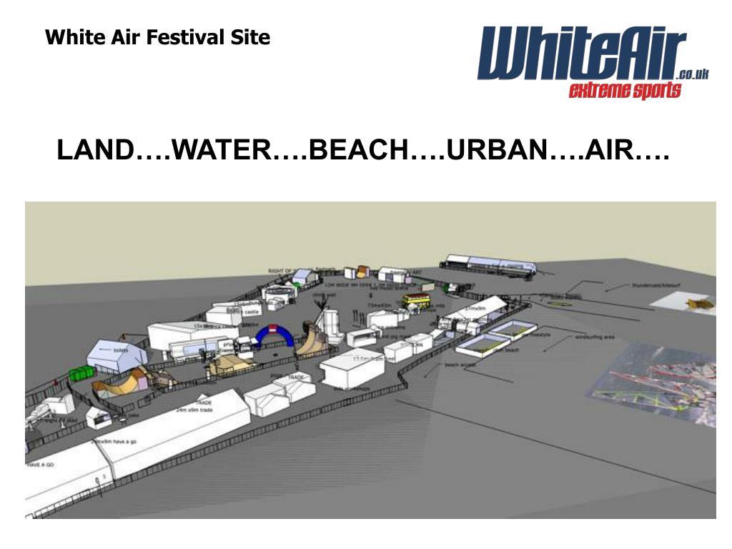 White Air Festival Site