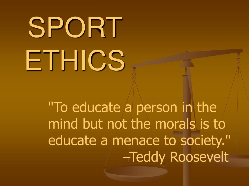sport ethics l.