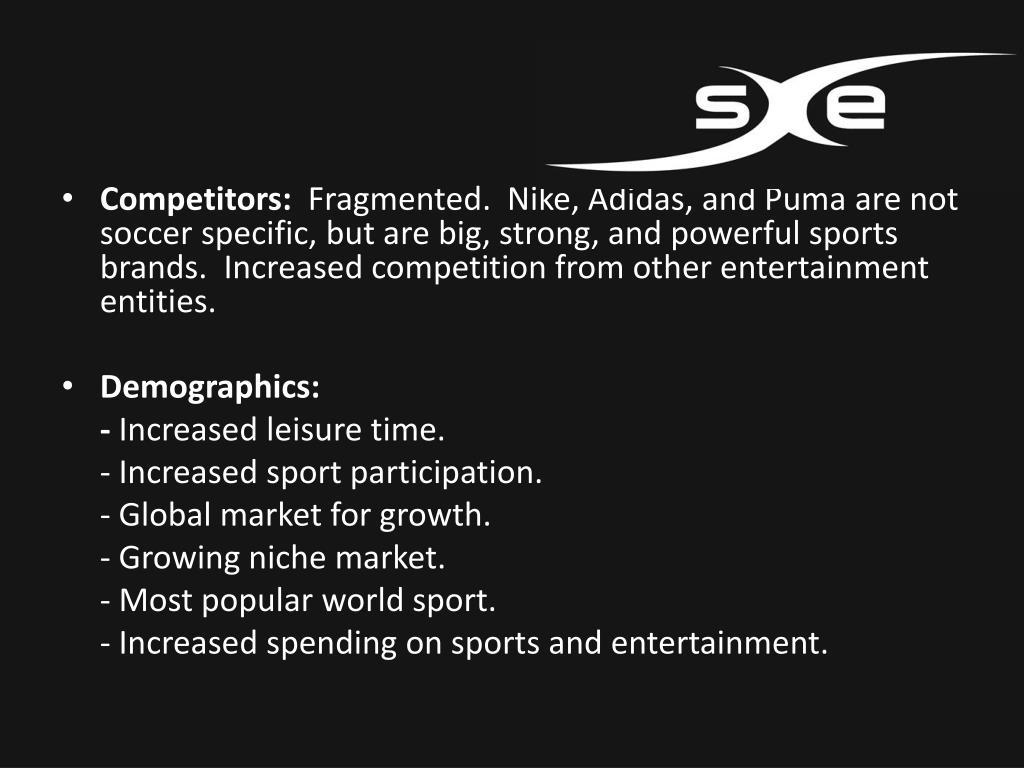 Competitors: