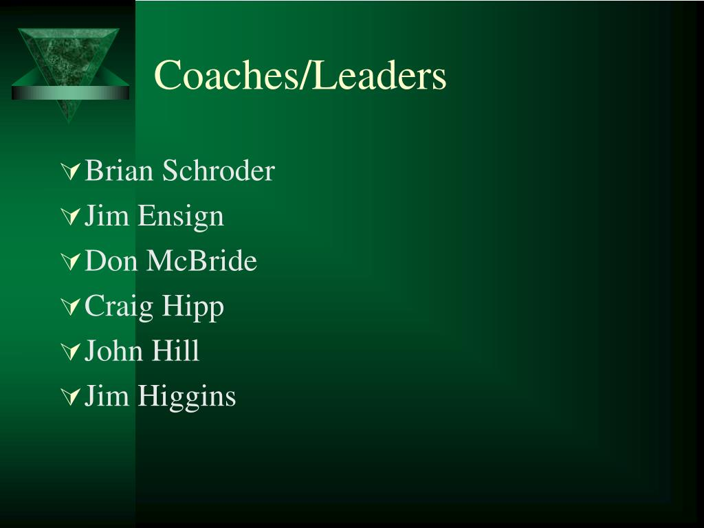 Coaches/Leaders