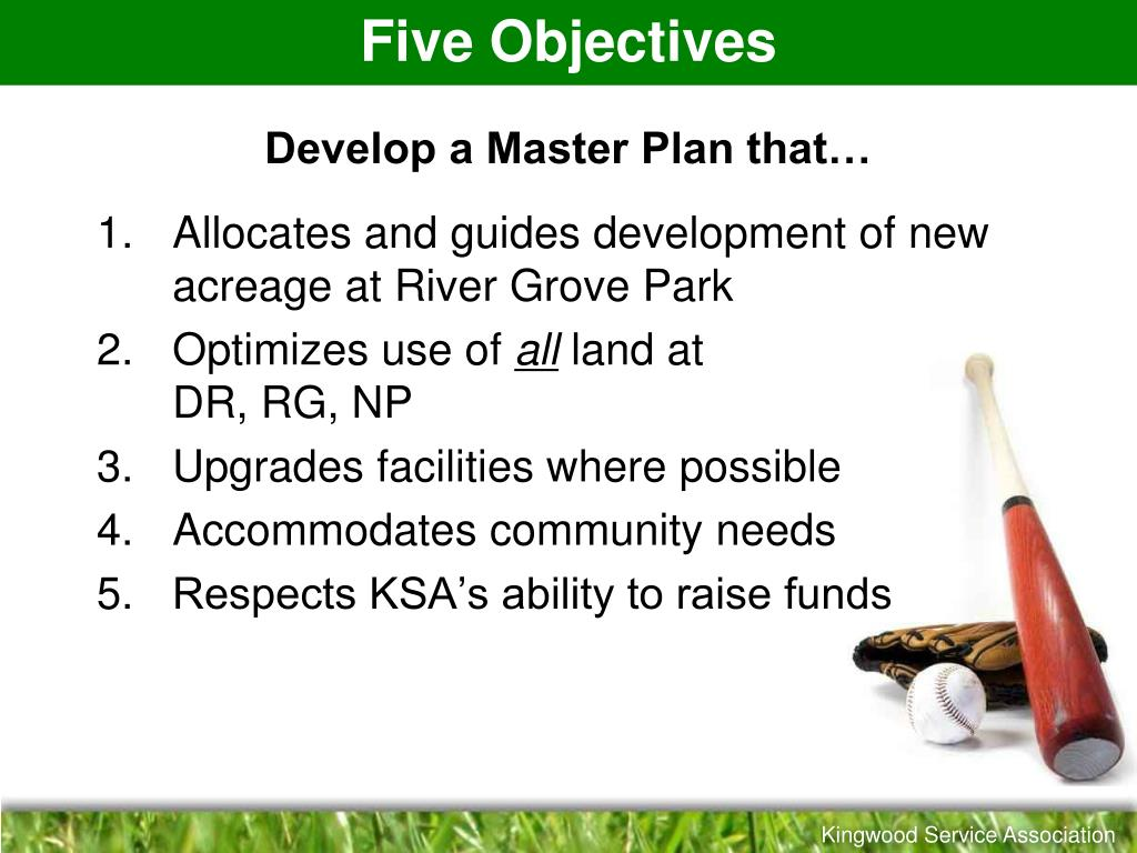 Five Objectives