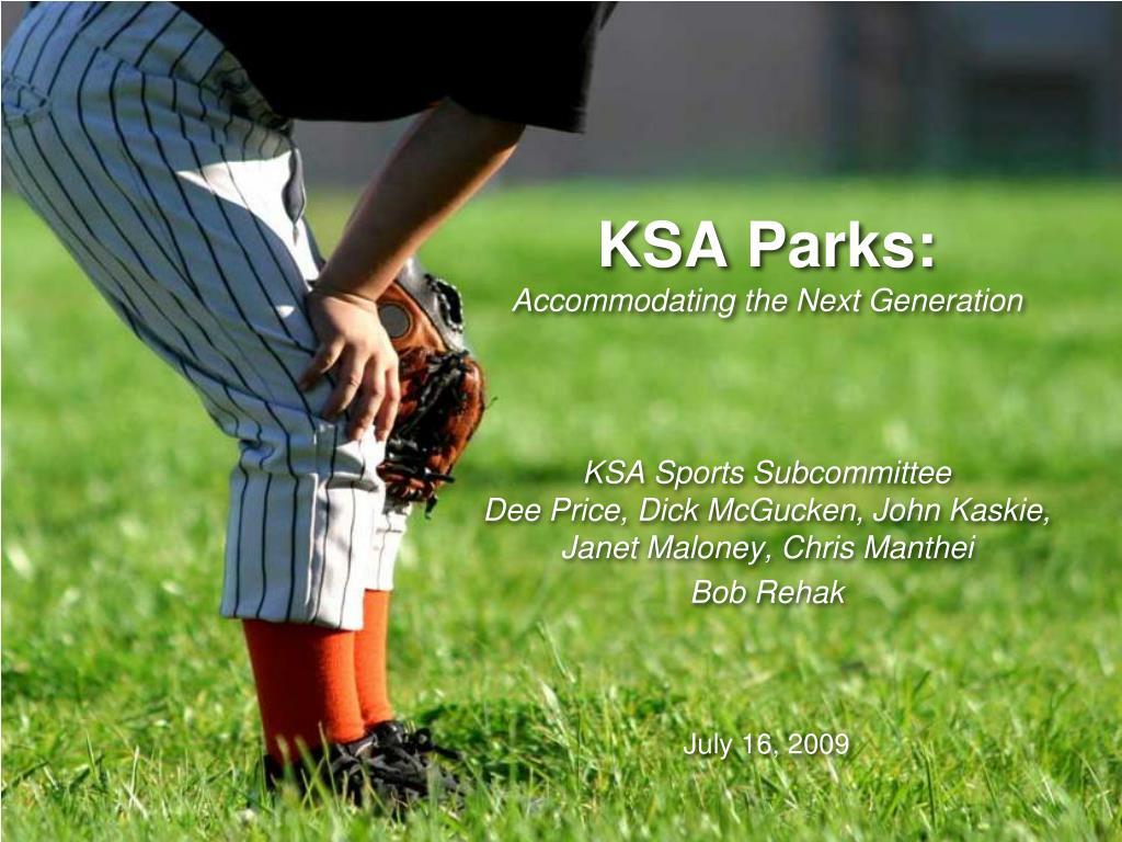 KSA Parks: