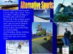 alternative sports