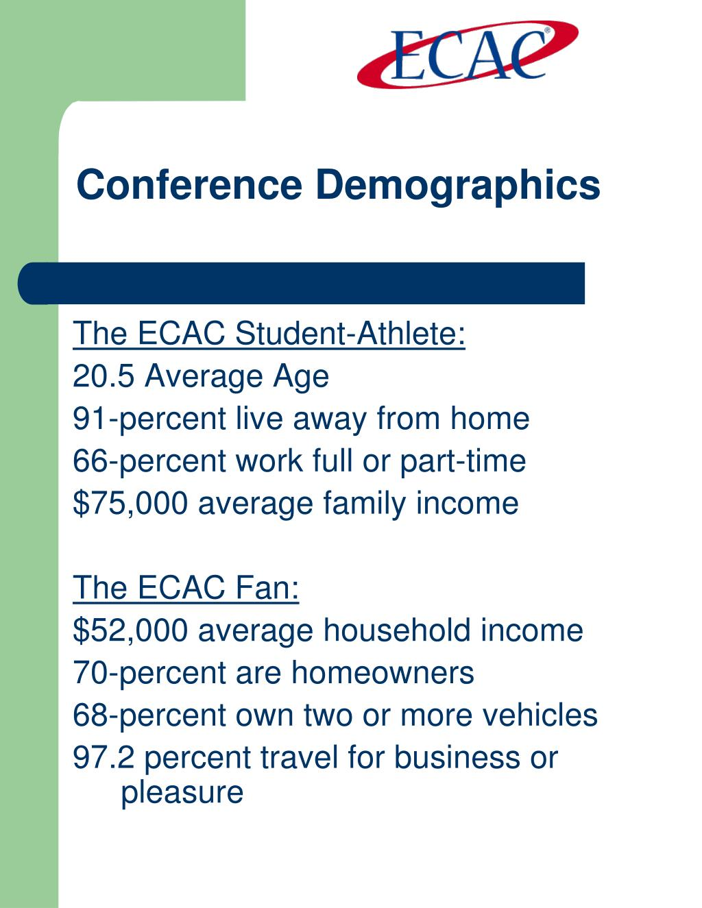 Conference Demographics