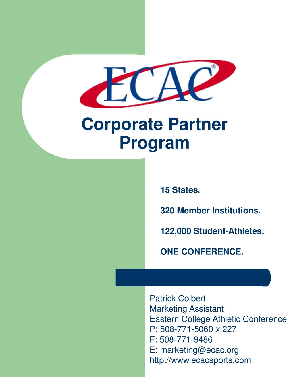 corporate partner program l.