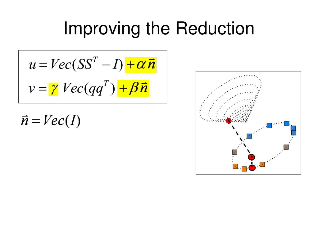 Improving the Reduction