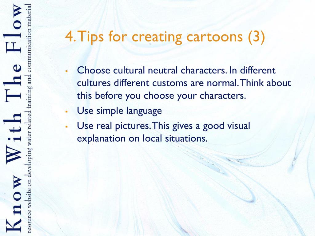 4. Tips for creating cartoons (3)