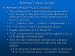 newton s laws cont22