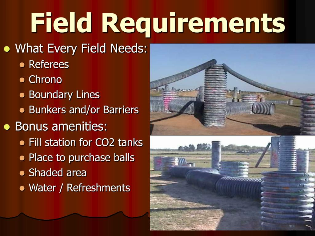 Field Requirements