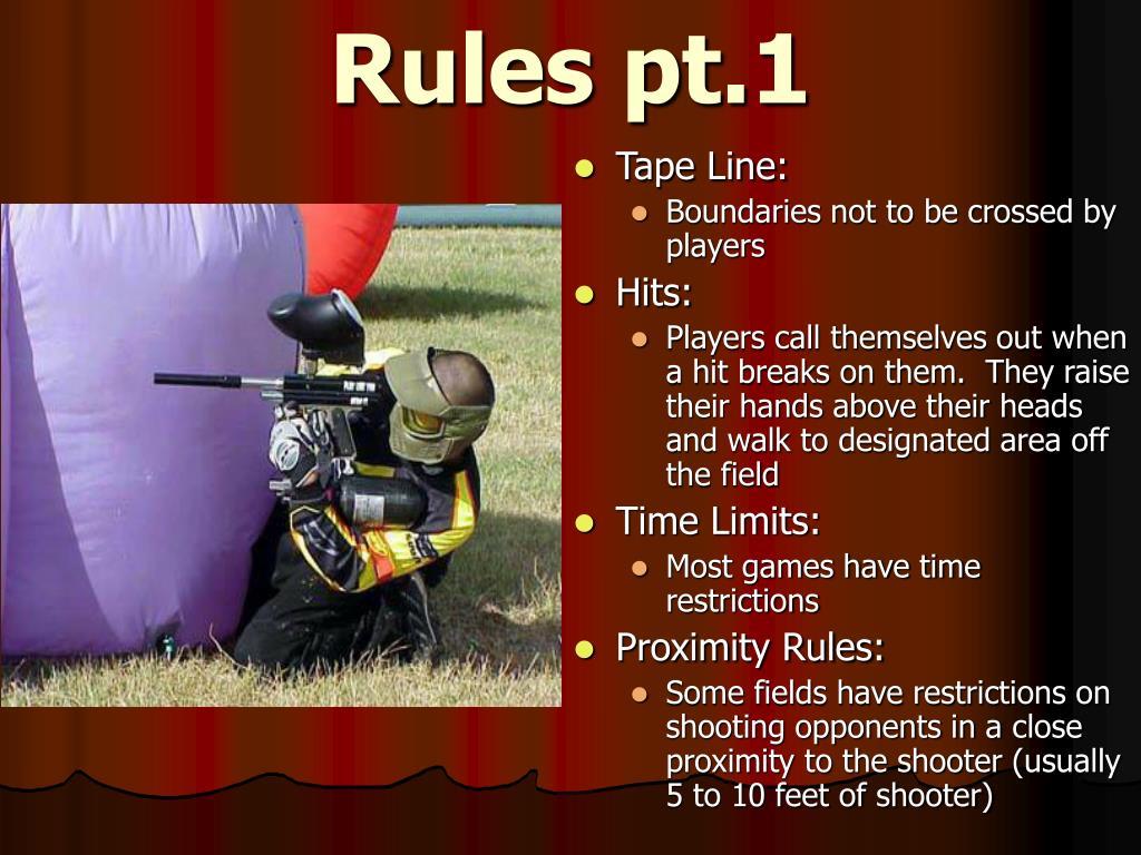 Rules pt.1