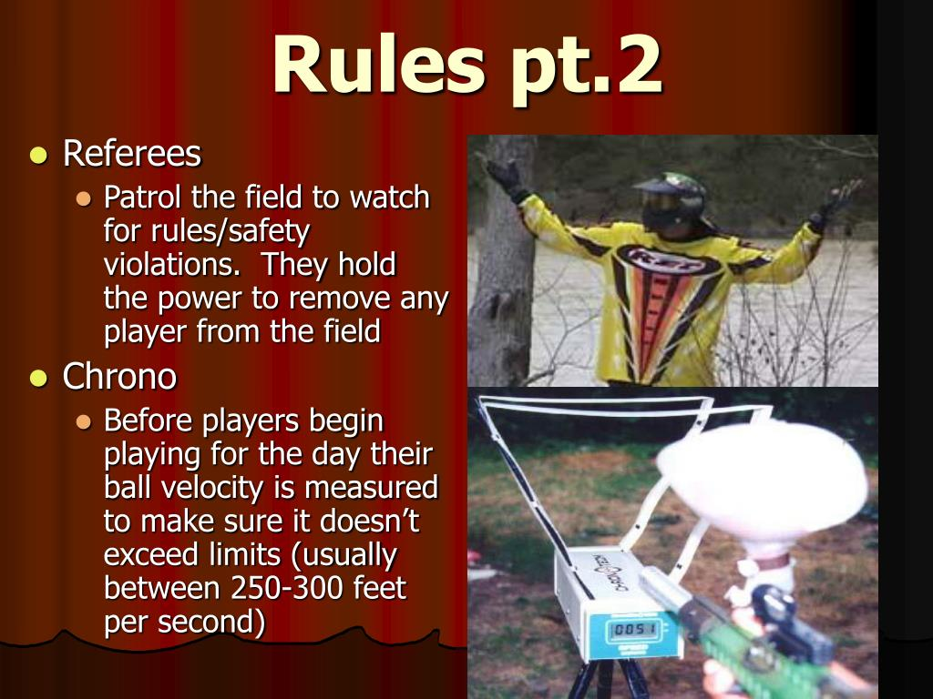 Rules pt.2