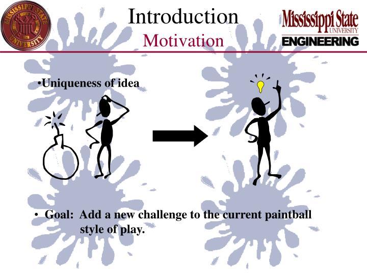 Introduction motivation