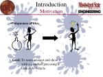 introduction motivation