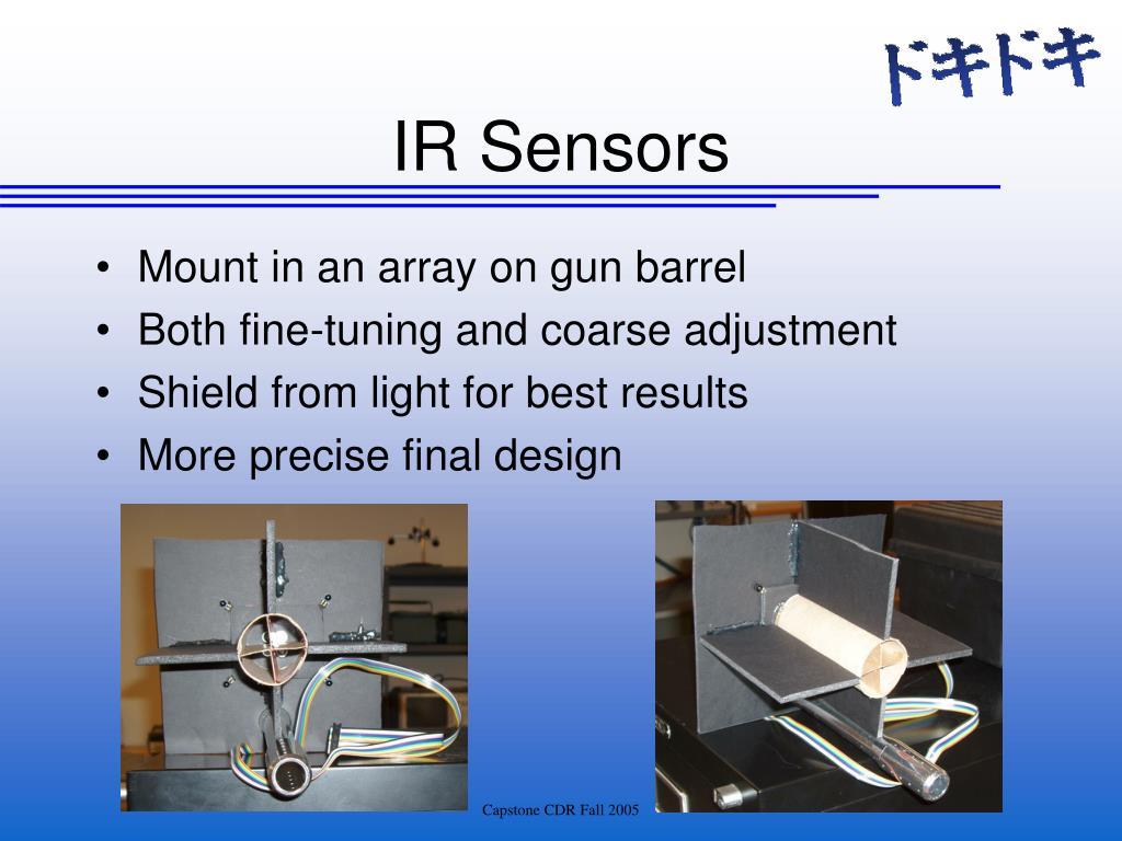 Mount in an array on gun barrel