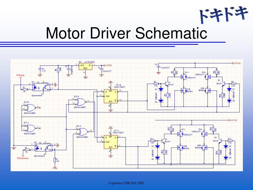 Motor Driver Schematic
