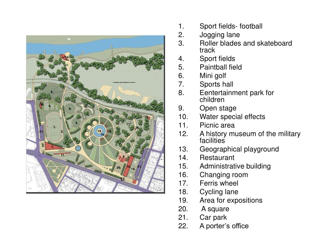 Sport fields- football
