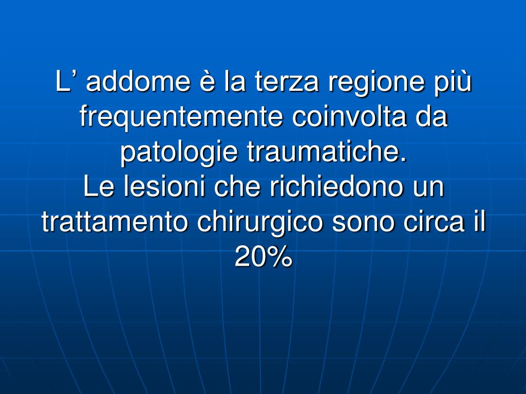 ppt - il trauma addominale powerpoint presentation