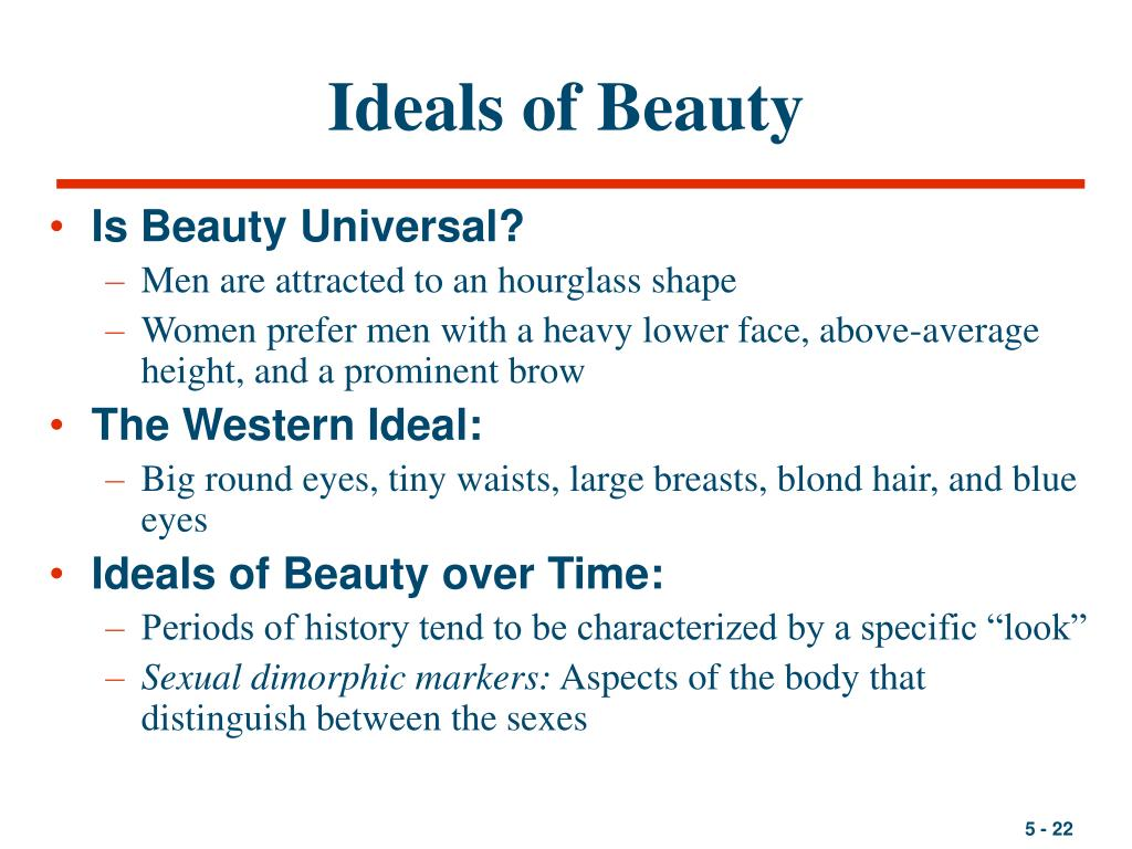 Ideals of Beauty