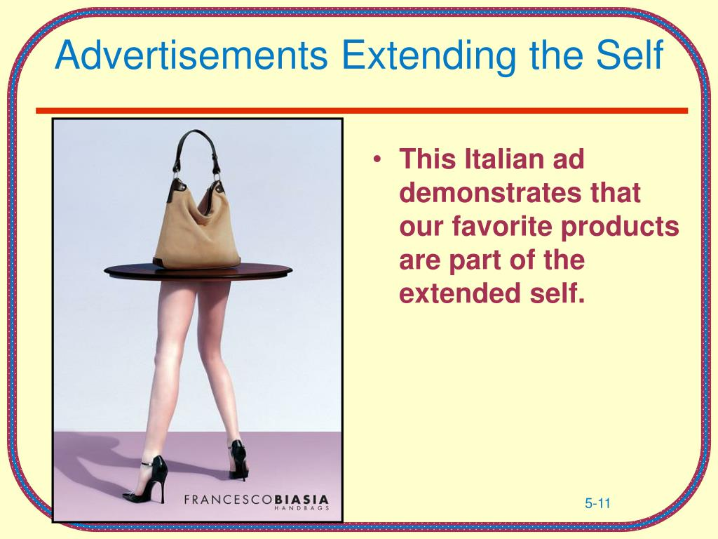 Advertisements Extending the Self