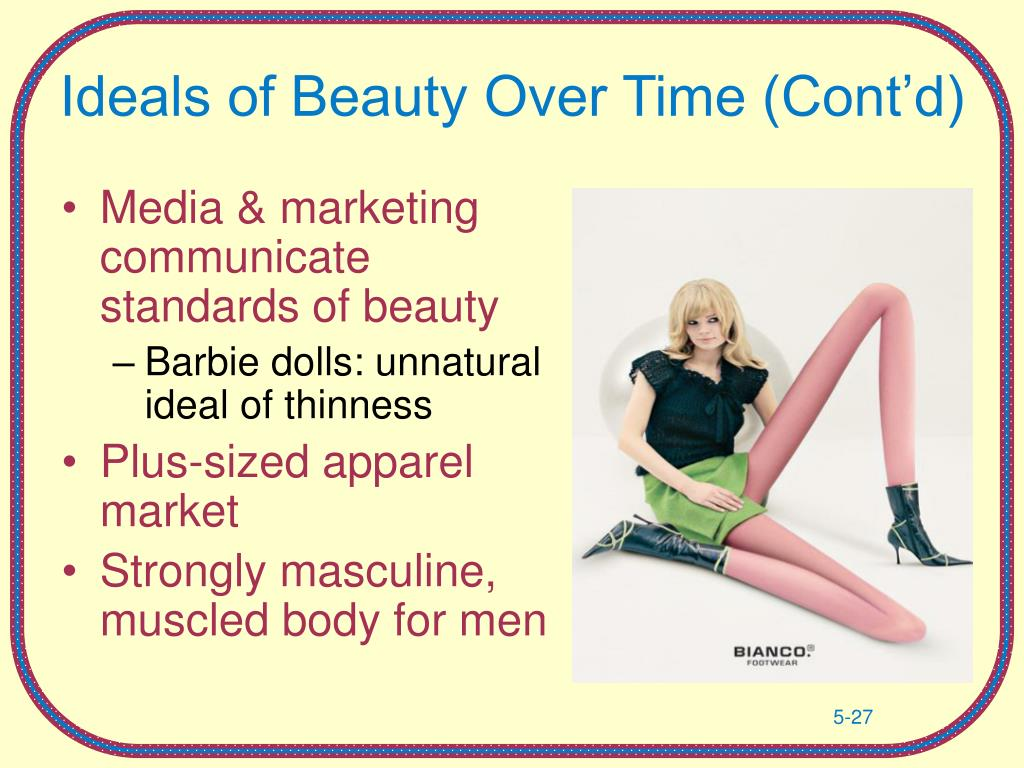Ideals of Beauty Over Time (Cont'd)