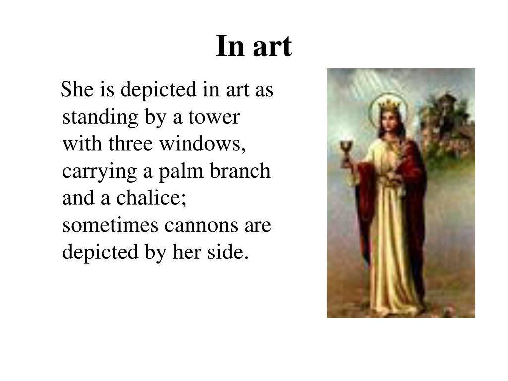 In art