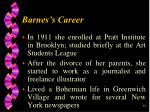 barnes s career