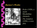 barnes s works38