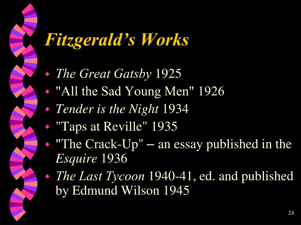 Fitzgerald's Works