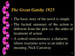 he great gatsby 192526