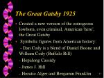 he great gatsby 192527