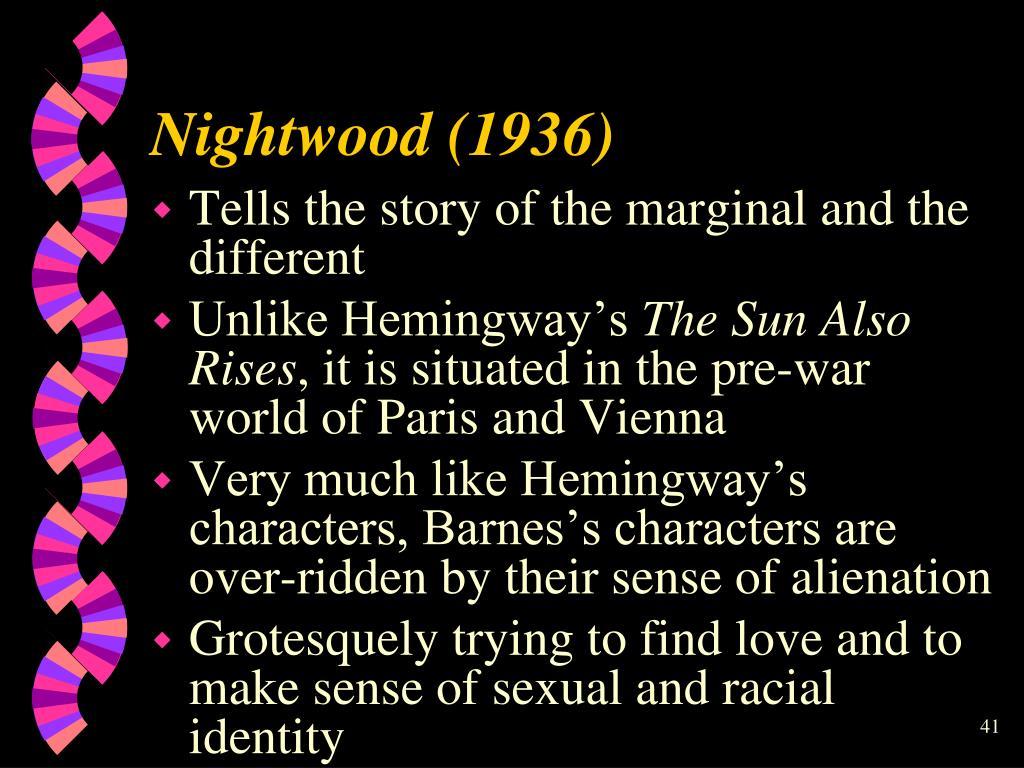 Nightwood (1936)