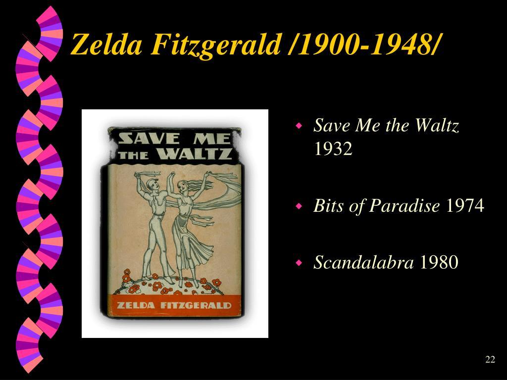 Zelda Fitzgerald /1900-1948/