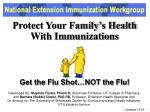 protect your family s health with immunizations