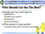 who should get the flu shot2