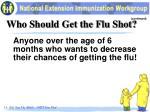 who should get the flu shot3