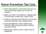 poison prevention tips cont d14