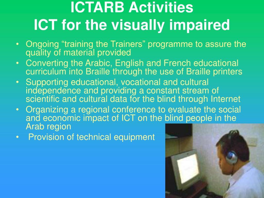 ICTARB Activities