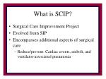 what is scip