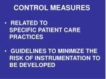 control measures