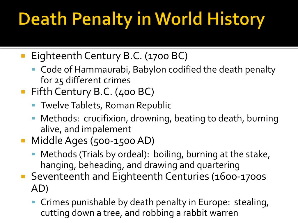 death penalty 10 essay