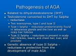 pathogenesis of aga
