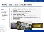 bios basic input output system
