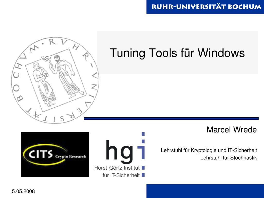 tuning tools f r windows l.