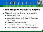1996 surgeon general s report16