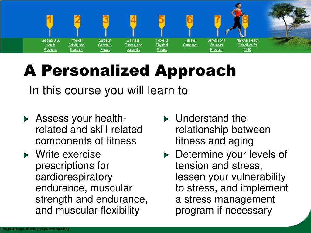 Assess your health-related and skill-related components of fitness