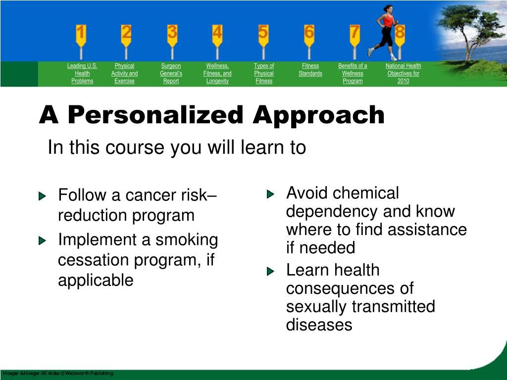 Follow a cancer risk–reduction program