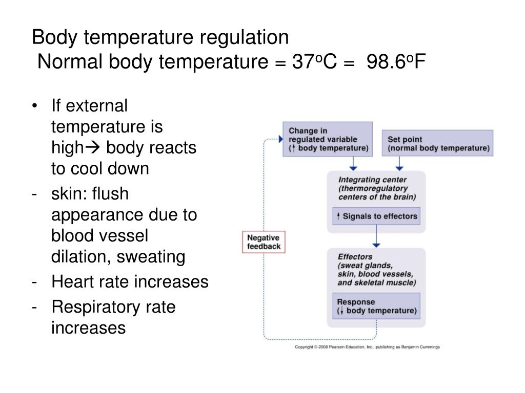 If external temperature is high