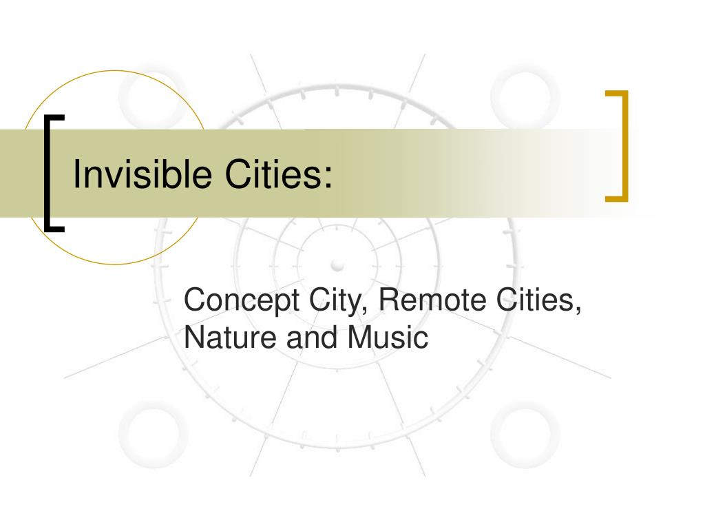 invisible cities l.
