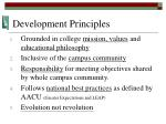 development principles
