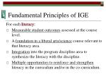 fundamental principles of ige6